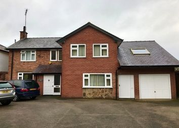 Thumbnail 5 bed detached house to rent in Mold Road, Caergwrle