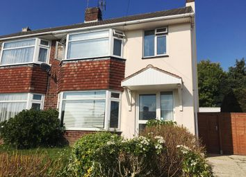 Thumbnail 3 bedroom semi-detached house to rent in Broadwater Road, Southampton