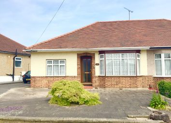 Thumbnail 2 bedroom semi-detached bungalow for sale in Pettits Lane North, Rise Park, Romford