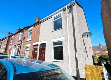 Thumbnail 2 bed end terrace house to rent in Shirland Street, Chesterfield, Derbyshire