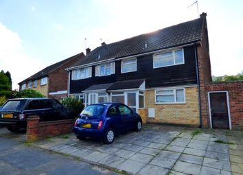 Thumbnail 3 bed semi-detached house for sale in Leveret Close, Watford, Hertfordshire