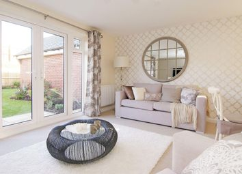 "Thumbnail 3 bedroom terraced house for sale in ""Nugent"" at Beancroft Road, Marston Moretaine, Bedford"