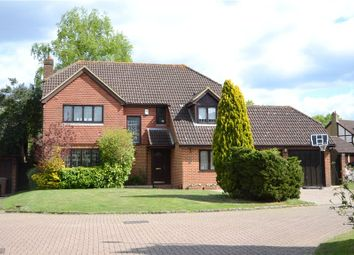 Thumbnail 5 bed detached house for sale in Manor Park Drive, Finchampstead, Wokingham