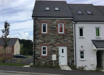"Thumbnail 3 bedroom end terrace house for sale in ""The Moseley"" at Carlton Way, Liskeard"