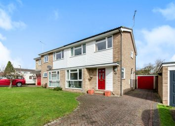 Thumbnail 3 bed semi-detached house for sale in Heron Road, Kelvedon, Colchester