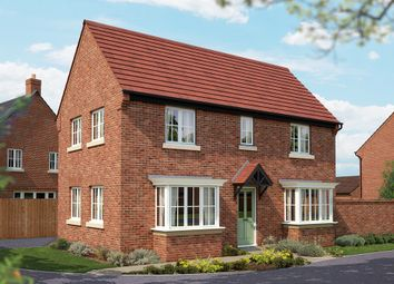 "Thumbnail 3 bed detached house for sale in ""The Sheringham"" at Burton Road, Streethay, Lichfield"