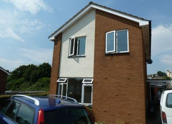 Thumbnail 4 bed detached house to rent in Broadmead, Exmouth