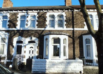 Thumbnail 3 bed terraced house to rent in Splott Road, Splott, Cardiff