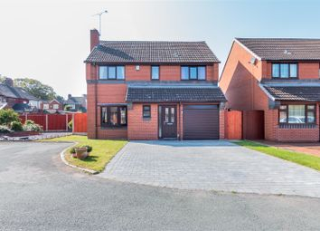 Thumbnail 4 bed detached house for sale in Vicars Croft, Rugeley