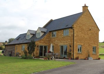 Thumbnail 4 bed detached house to rent in Home Farm Court, Cow Lane, Lower Brailes, Banbury