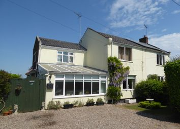 Thumbnail 3 bed semi-detached house for sale in 1 Station Cottage, Station Road, Aldeby, Beccles