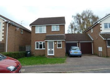 Thumbnail 3 bed detached house to rent in David Bull Way, Milton, Cambridge