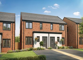 """Thumbnail 2 bed semi-detached house for sale in """"The Alnwick"""" at Church Road, Old St. Mellons, Cardiff"""