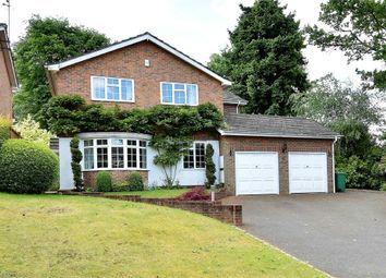 Thumbnail 4 bed detached house for sale in Ashwell Avenue, Camberley, Surrey