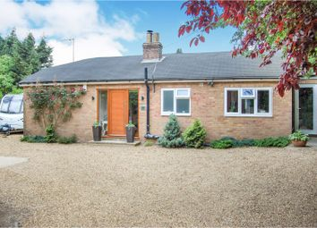 Thumbnail 4 bed detached bungalow for sale in High Street, Collingtree Village, Northampton