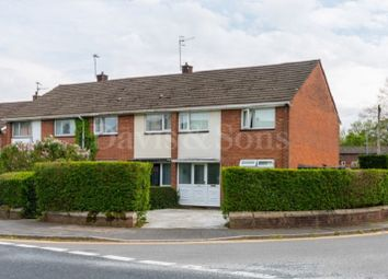 Thumbnail 3 bedroom end terrace house for sale in Monnow Way, Bettws, Newport.