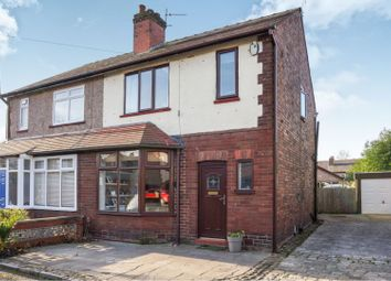 Thumbnail 3 bed semi-detached house for sale in Bewley Grove, Leigh