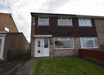 Thumbnail 3 bed semi-detached house to rent in Coed-Y-Capel, Barry