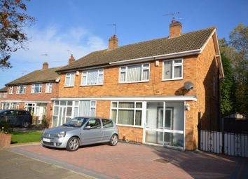 Thumbnail 3 bed semi-detached house for sale in Woodcroft Avenue, West Knighton, Leicester