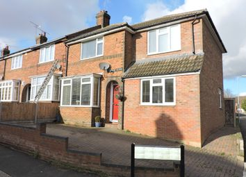 Thumbnail 3 bedroom end terrace house for sale in Hazelwood Close, Luton