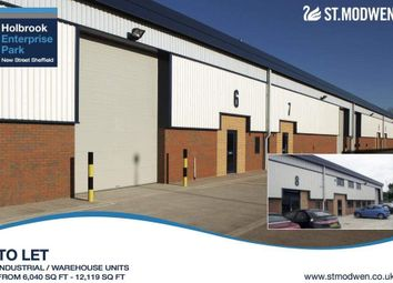 Thumbnail Light industrial to let in Holbrook Enterprise Park, New Street, Sheffield