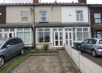 Thumbnail 3 bed terraced house to rent in Lord Street, Walsall