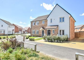 Thumbnail 2 bed semi-detached house for sale in Cheetah Chase, Stanway, Colchester