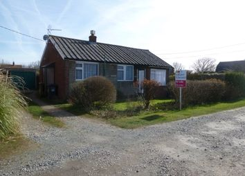 Thumbnail 2 bedroom detached bungalow for sale in Lynton Road, Walcott, Norwich