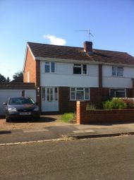 Thumbnail 3 bed semi-detached house to rent in Malone Road, Woodley, Reading