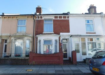 Thumbnail 2 bed terraced house for sale in Suffolk Road, Southsea