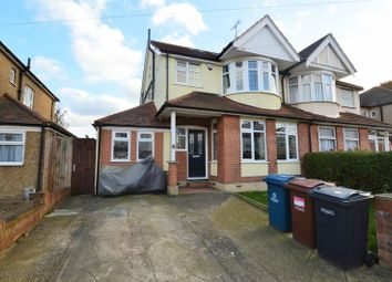Thumbnail 5 bed semi-detached house for sale in Woodberry Avenue, North Harrow, Harrow