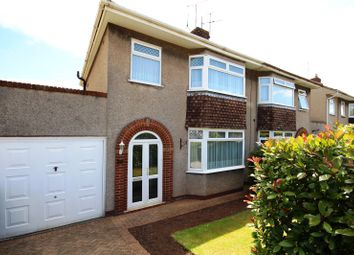 Thumbnail 3 bed semi-detached house for sale in Fouracre Crescent, Bromley Heath, Bristol