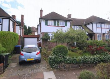 Thumbnail 3 bed semi-detached house for sale in Greenway, London