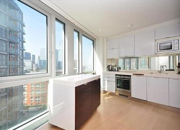 Thumbnail 1 bed flat to rent in Fairmont Avenue, Canary Wharf