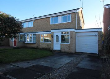Thumbnail 3 bed semi-detached house for sale in Purbeck Gardens, Eastfield Chase, Cramlington
