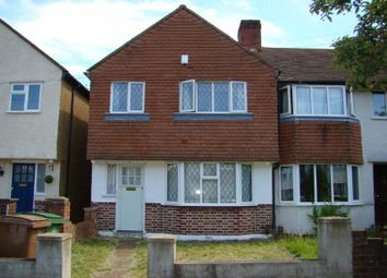 Thumbnail 3 bed terraced house to rent in Buckland Way, Worcester Park