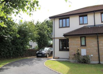 Thumbnail 2 bed semi-detached house for sale in Roskruge Close, Helston
