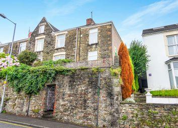 Thumbnail 2 bedroom end terrace house for sale in Terrace Road, Swansea