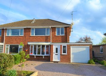 Thumbnail 3 bed semi-detached house for sale in Woodfield Close, Spalding, Lincolnshire