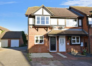 Thumbnail 2 bed end terrace house for sale in Grassmere Close, Littlehampton, West Sussex