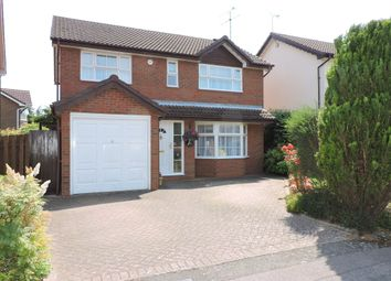 Thumbnail 4 bedroom detached house for sale in Sworder Close, Luton