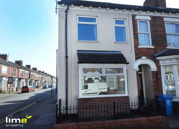 Thumbnail 3 bed end terrace house to rent in Queens Gate Street, Hull