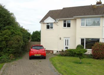 Thumbnail 3 bedroom semi-detached house for sale in Summerland Crescent, Llandough, Penarth