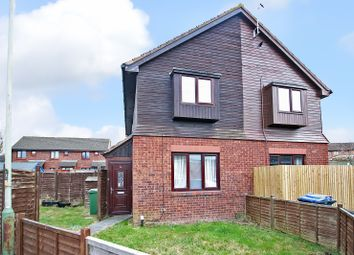 Thumbnail 1 bed semi-detached house for sale in Danvers Way, Westbury