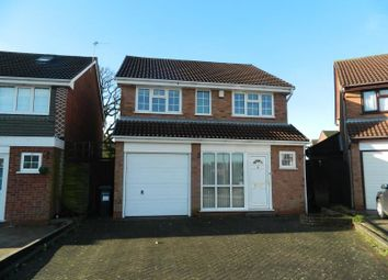 Thumbnail 3 bed detached house to rent in Cutshill Close, Castle Bromwich, Birmingham