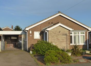 Thumbnail 2 bed detached bungalow to rent in Tamar Road, Melton Mowbray