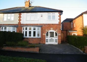 Thumbnail 3 bed semi-detached house to rent in Howard Road, Glen Parva, Leicester