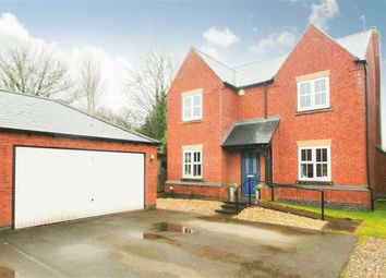 Thumbnail 4 bed detached house for sale in Bramblewood Close, Chirk Bank, Wrexham