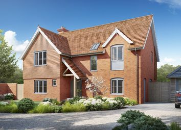 Thumbnail 4 bed detached house for sale in Milford Road, Everton, Lymington