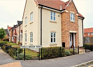 Thumbnail 3 bed link-detached house for sale in Pools Brook Park, Kingswood, Hull